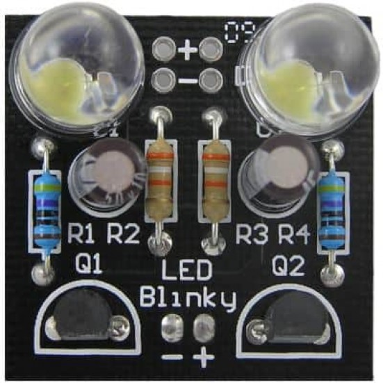 LED Blinky Kit DIY LED Flasher