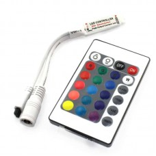 Mini RGB LED Effects Controller with IR Remote