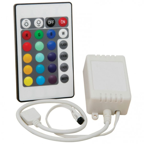 RGB LED Effects Controller With Remote