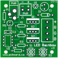 LED Rainbow Bare PCB