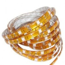Yellow Water Resistant LED Light Strip