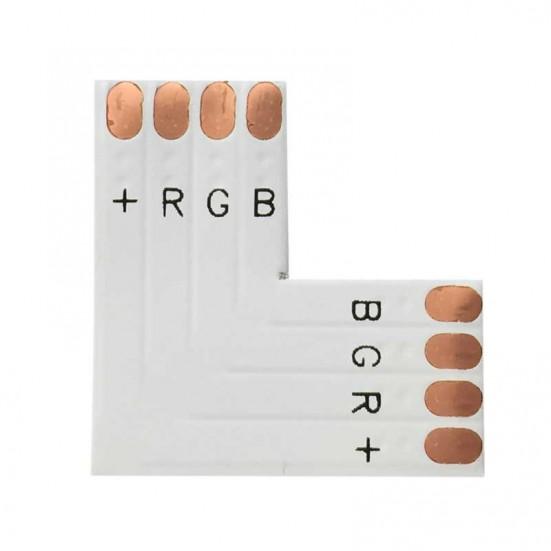 RGB 10mm LED Ribbon Right Angle Joiner