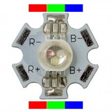 3 watt High Power RGB LED (6-Pin)