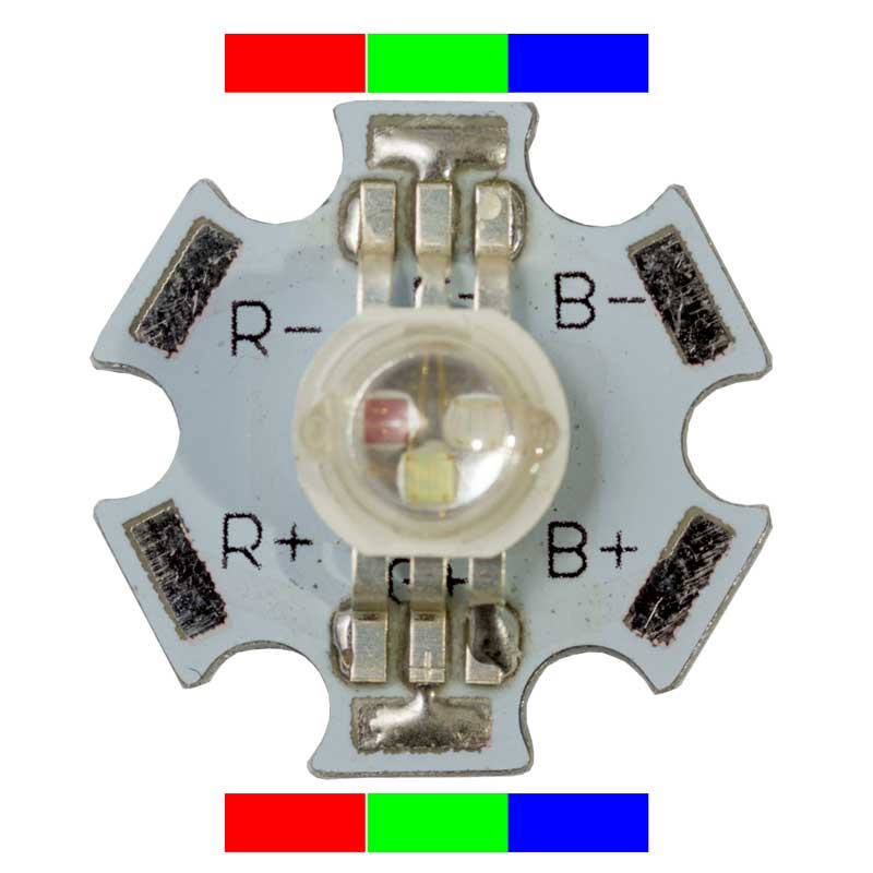 1w High Power Rgb Led