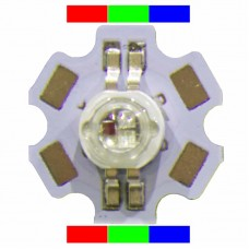 1 watt High Power RGB LED (4-pin)