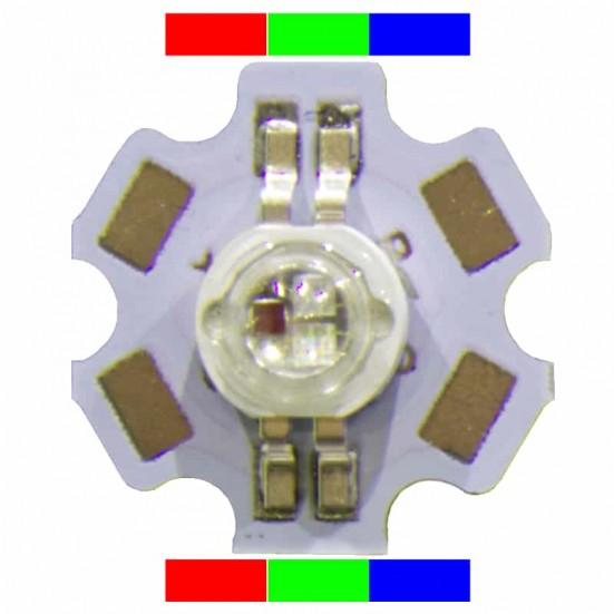 3 watt High Power RGB LED (4-pin)