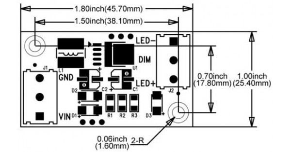 5w high power led driver