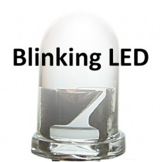 5mm Blinking Bright White LED