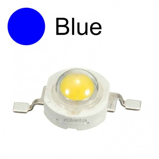 3 watt - Blue LED Bead