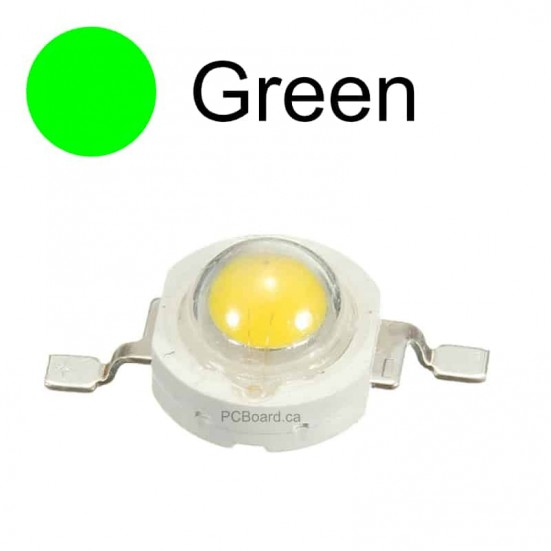 1 watt - Green LED Bead