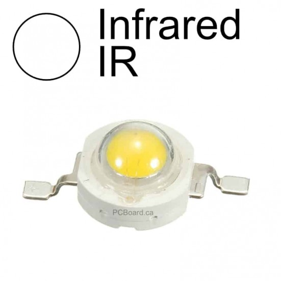 1 watt - IR (Infrared) LED Bead