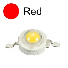 1 watt - Red LED Bead