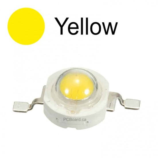 3 watt - Yellow LED Bead