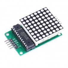 MAX7219 8x8 Dot Matrix Display With Red LED