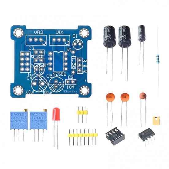 NE555 Pulse Generator Kit