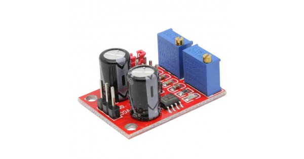 Ne555 Adjustable Square Wave Signal Generator