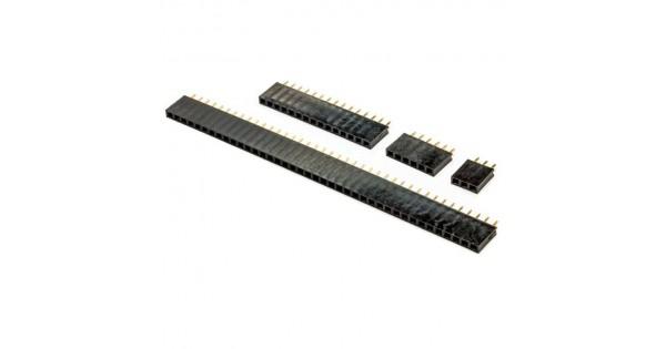 15 Pin Single Row Female Header