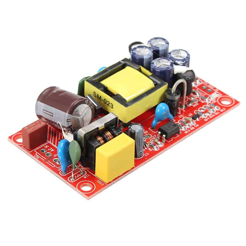 DC 12V 1A and 5V 1A Switching Power Supply