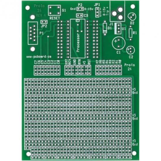 Proto-24 BasicStamp Prototype Board