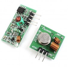 Mini RF Wireless Transmitter & Receiver (315Mhz or 433Mhz)