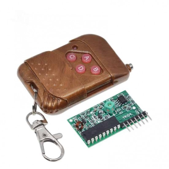 Key Fob with Receiver Board