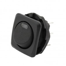 Miniature Rocker Switch with LED Indicator