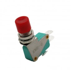 12mm Microswitch Pushbutton with Red Button