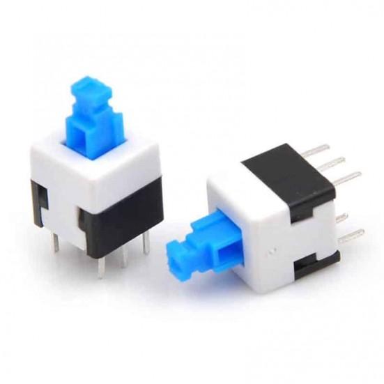Tactile Self-Locking Push Button