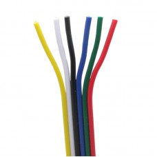 24-Gauge 6 Conductor Rainbow Wire
