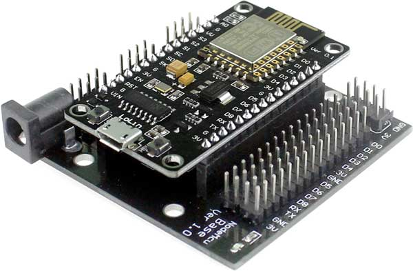 NodeMcu in Expansion Board