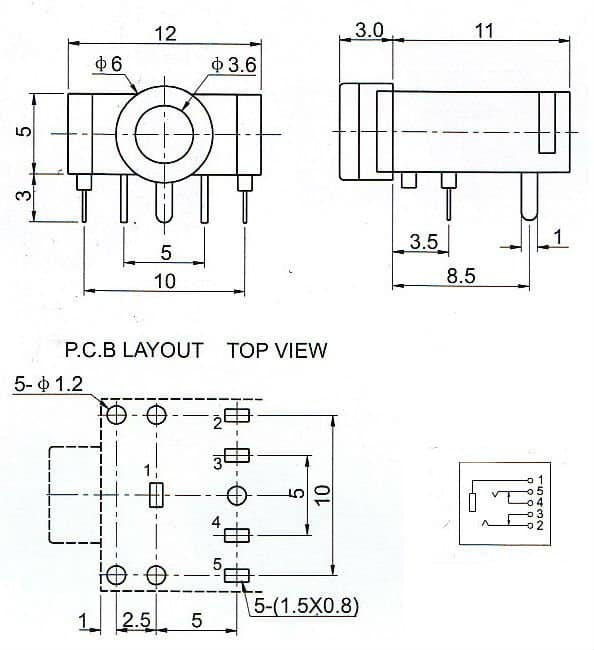 3_5 mm_jack_specs mm pcb mount stereo socket connector 3.5 mm stereo jack wiring diagram at gsmx.co