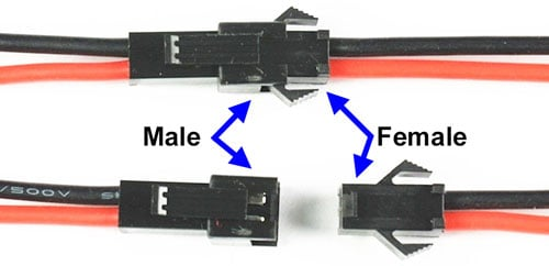 JST SM 2-Pin Connector Set - 2