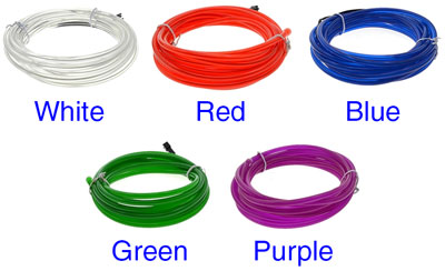 5m EL Wire Set with Controller (Light Background)